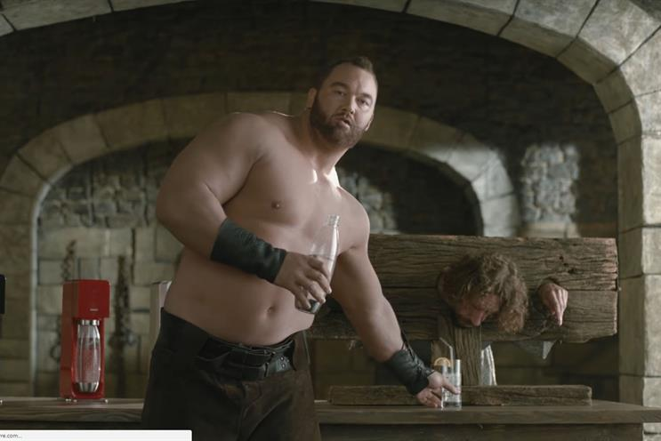 "Thor Bjornsson: in character as Gregor ""The Mountain"" Clegane"