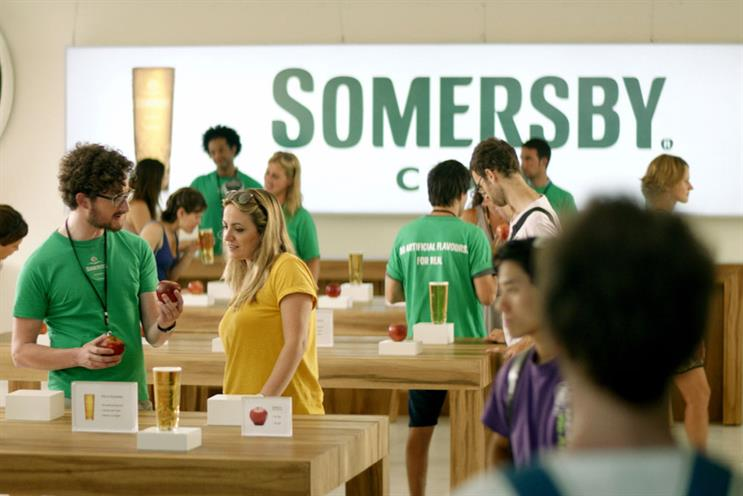 Somersby: Fold7, the incumbent, won the account early last year