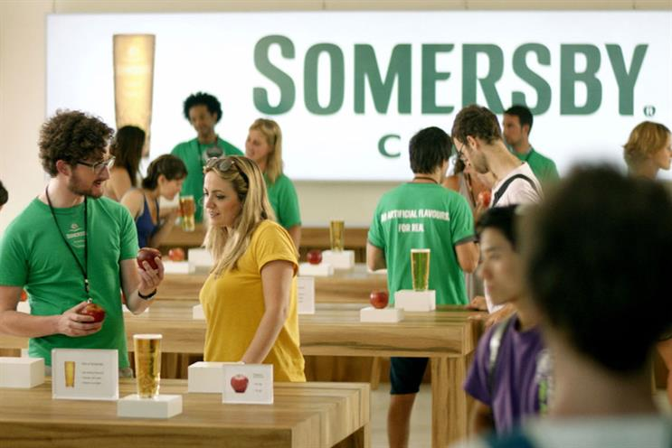 Somersby: three on the shortlist