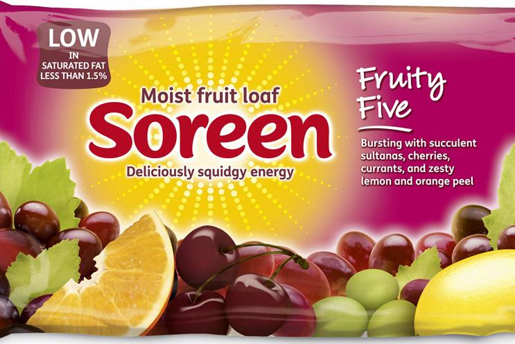 Soreen: Goodstuff will support the brand on a £4 million campaign for Easter 2014