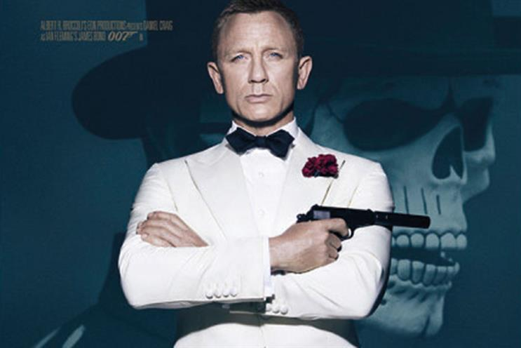 The latest James Bond film, Spectre, helped smash expectations for cinema ad revenues