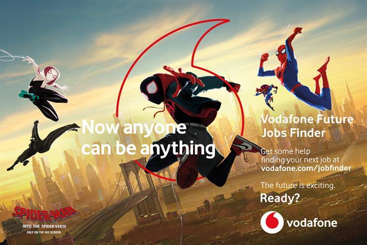 Vodafone: Wavemaker is incumbent