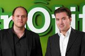 Spotify founders Ek and Lorentzon