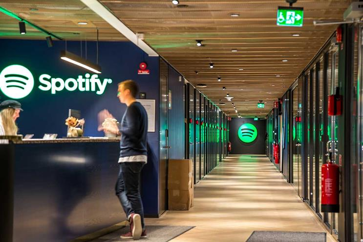 Spotify: total revenue grew 28% in the quarter