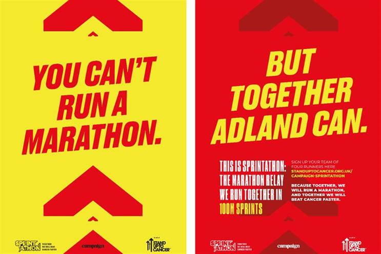 Campaign Sprintathon: charity race is in aid of Stand Up To Cancer