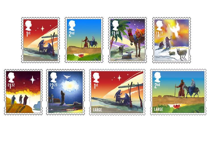 Holmes: Christmas stamp designs