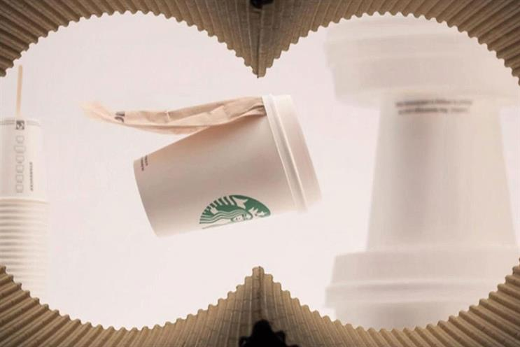 Starbucks launches pitch for retail brief