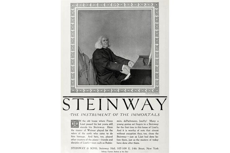 History of advertising: No 159: Ray Rubicam's Steinway ads