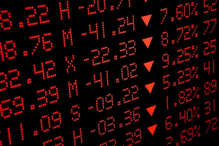 Stock market: share prices for holding companies are down
