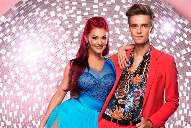 Strictly: Sugg was credited with bringing a younger audience to the BBC