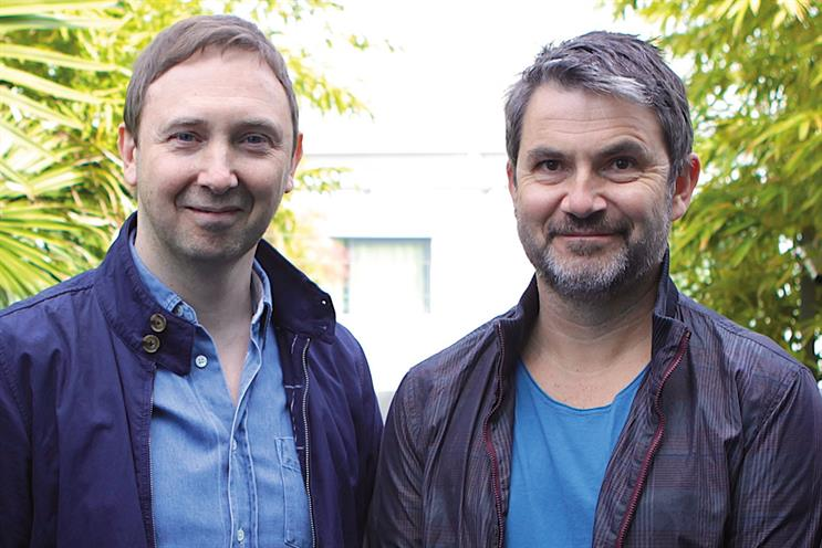 Studzinski (l) and Wilkins: Karmarama's chief creative officer and executive chairman