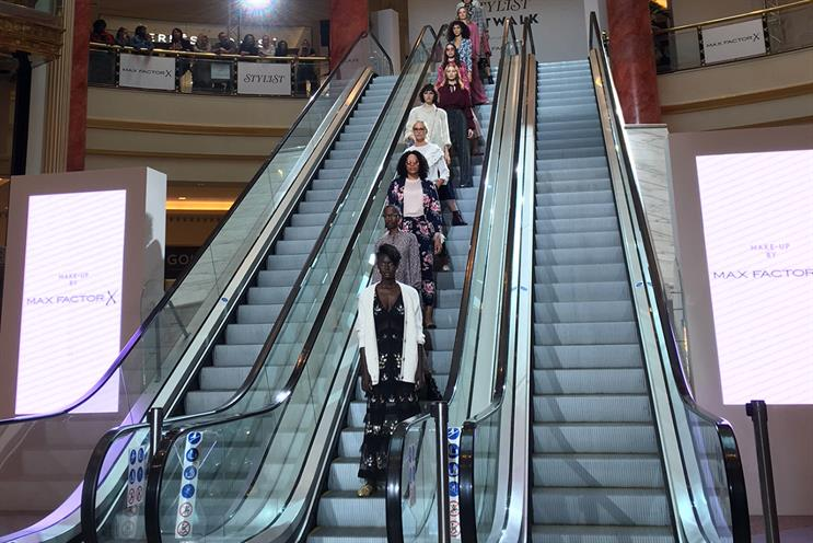 Stylist Live Manchester transformed the city's bustling Intu Trafford Centre