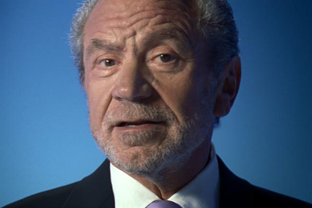NS&I: the organisation has previously used Lord sugar in its advertising