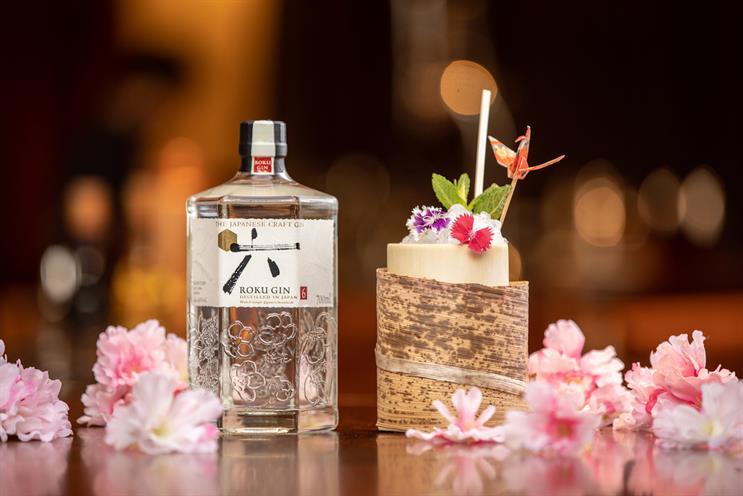 Suntory: Roku Gin is one of its premium craft spirits