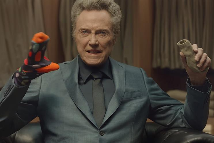 Christopher Walken in Kia's Super Bowl ad