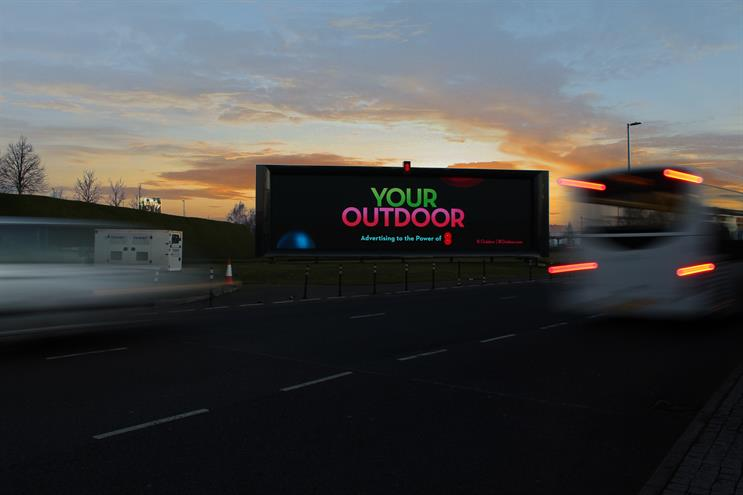 DOOH: one of 8 Outdoor's sites