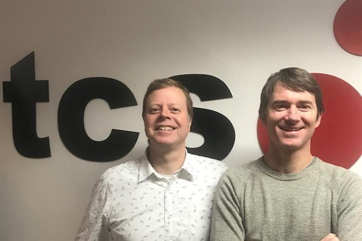 TCS' new management team includes David Price (left) and Ciaran Deering