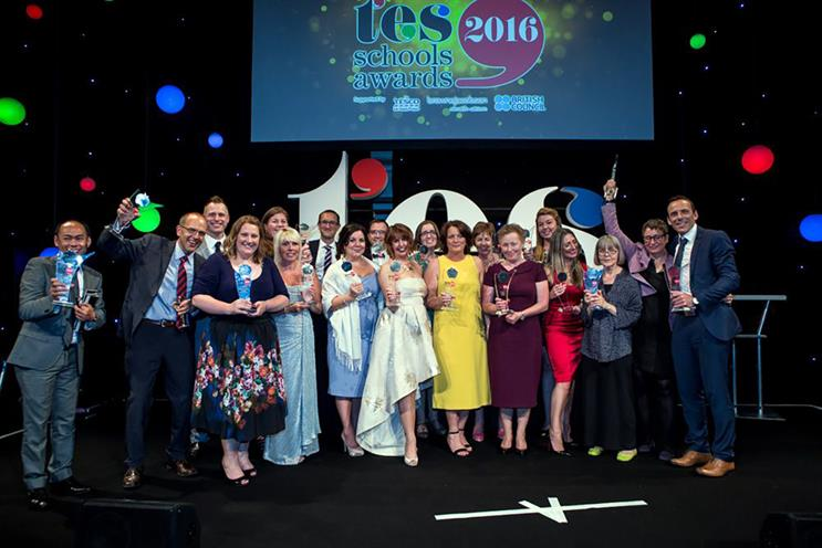 Last year's TES Schools Awards were a roaring success: get your brand involved in the 2017 event