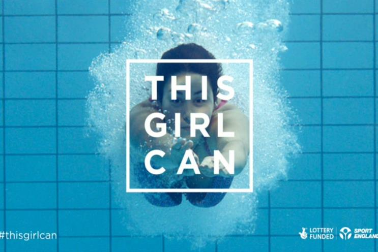 Sport England is looking for brand partners for #ThisGirlCan