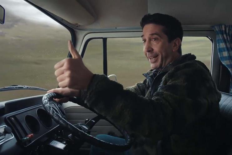 Schwimmer: set to reunite with Friends co-stars for a one-off specific next year
