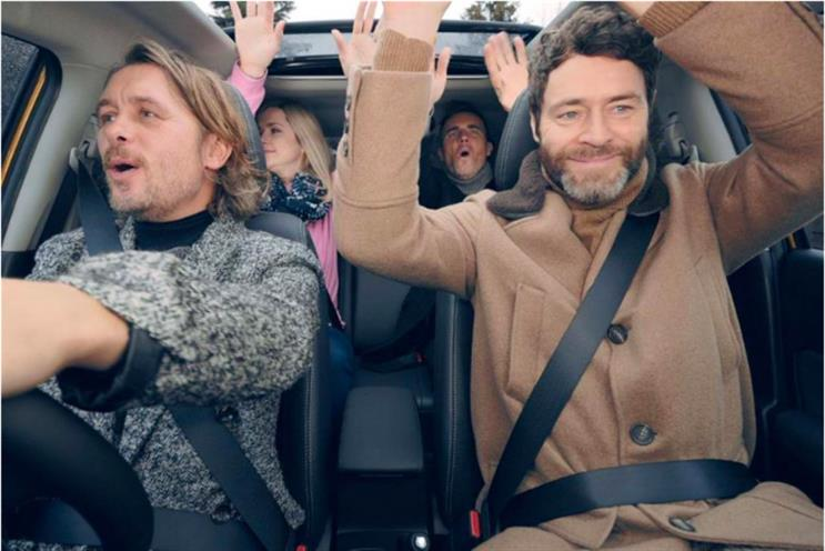 Suzuki: Take That featured in Suzuki partnership with ITV