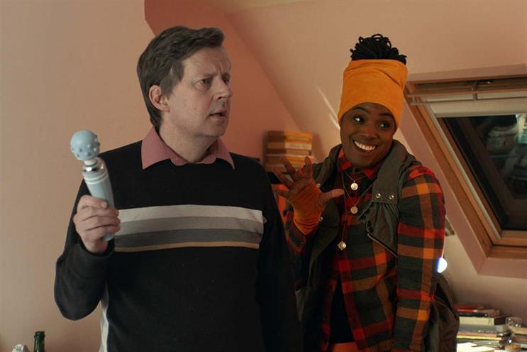 """Tango: ads feature the """"Tanguru"""", who appears in moments of awkwardness"""