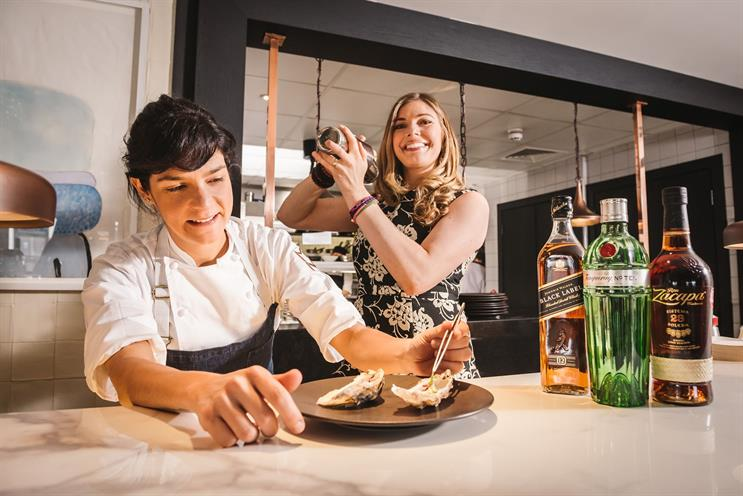 Diageo and Taste Festivals partner for food and drink experiences