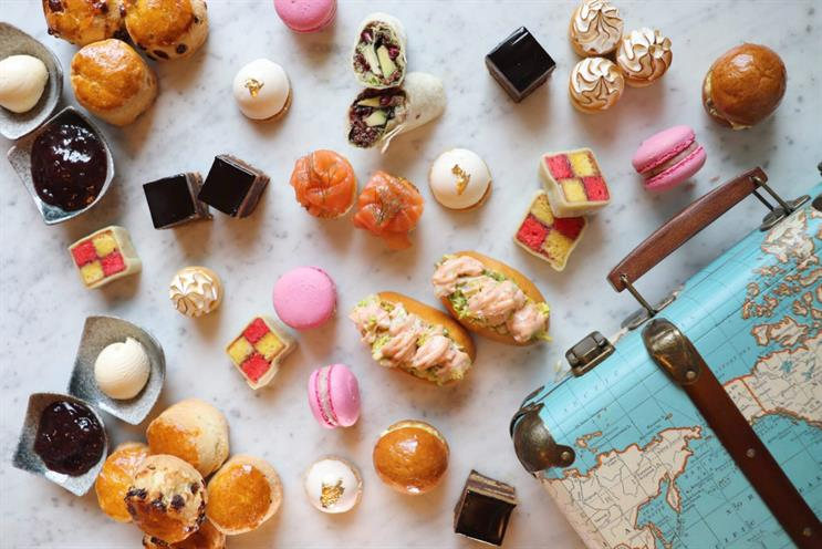 St Pancras Brasserie: afternoon tea menu is inspired by European cities