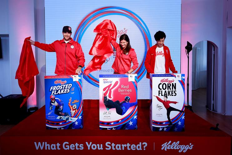 Kellogg's turns café into US-themed space for 2018 PyeongChang Games