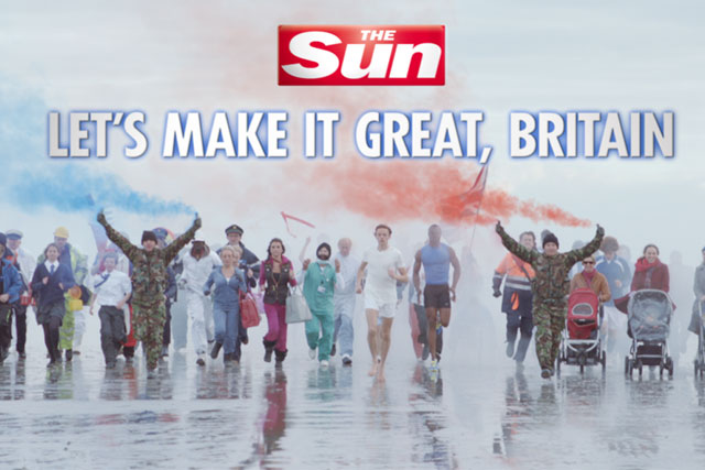 The Sun: one of the News UK titles serviced by WPP's Team News unit