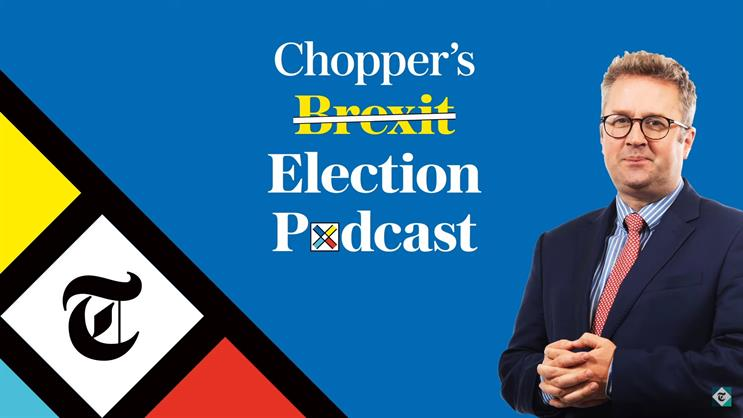 Chopper's Brexit Podcast: one of 18 from the Telegraph