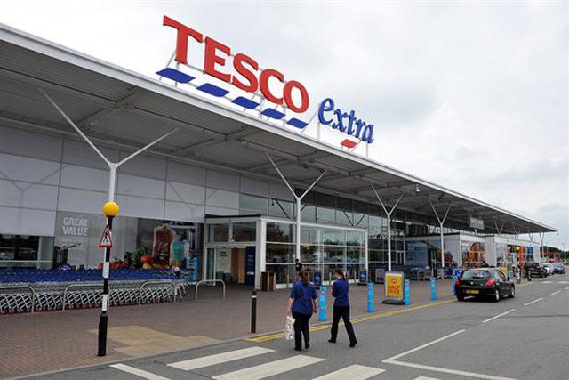 Tesco: continues fight to trademark the dashes under its logo