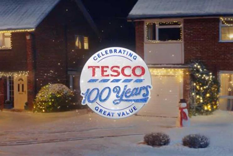 Tesco: Christmas campaign celebrates 100th anniversary