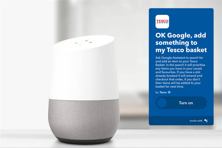Tesco: voice is already changing the way people shop online