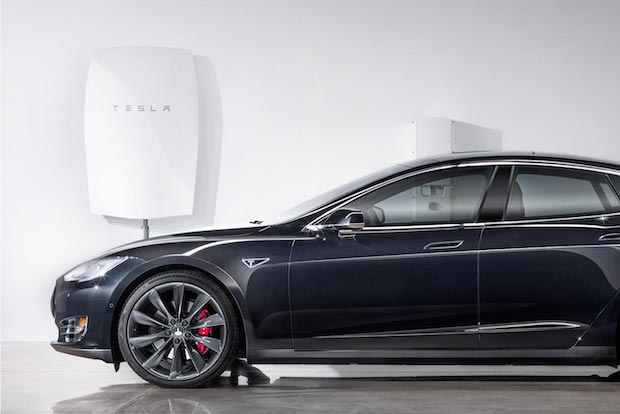 Tesla Powerwall: 51 inches high and 7 inches deep
