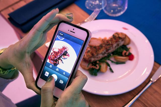 Birds Eye pop-up 'pay-by-picture' restaurant