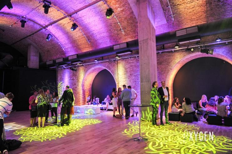 Oxygen Event Services' new secret space, The Steel Yard