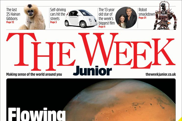The Week Junior: edited by Bassi, who leads a team of ten