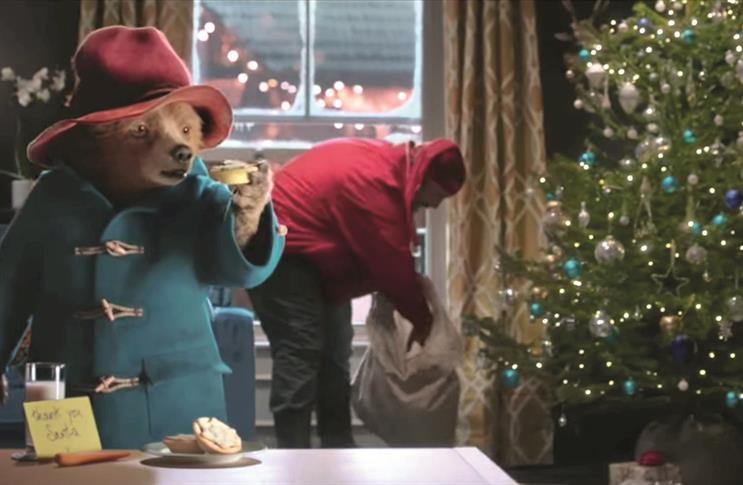 On set: How M&S and Grey brought Paddington film to TV
