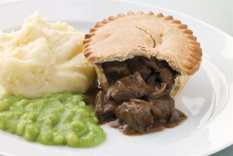 Pie and mash: not on the ISBA VIP menu