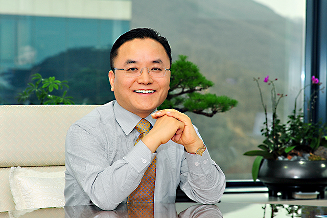 Thomas Oh, senior executive vice-president  and chief operating officer of Kia Motors