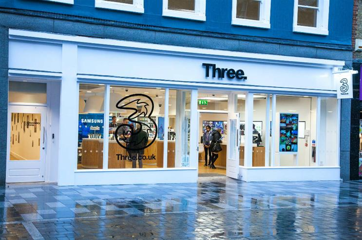 Three and Brand & Deliver: new events contract and activation