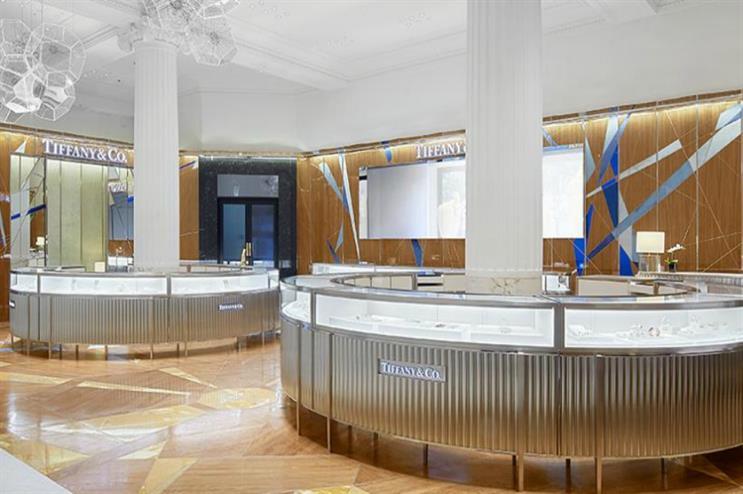 The new Tiffany & Co. boutique at Selfridges Oxford Street (image: selfridges.com)