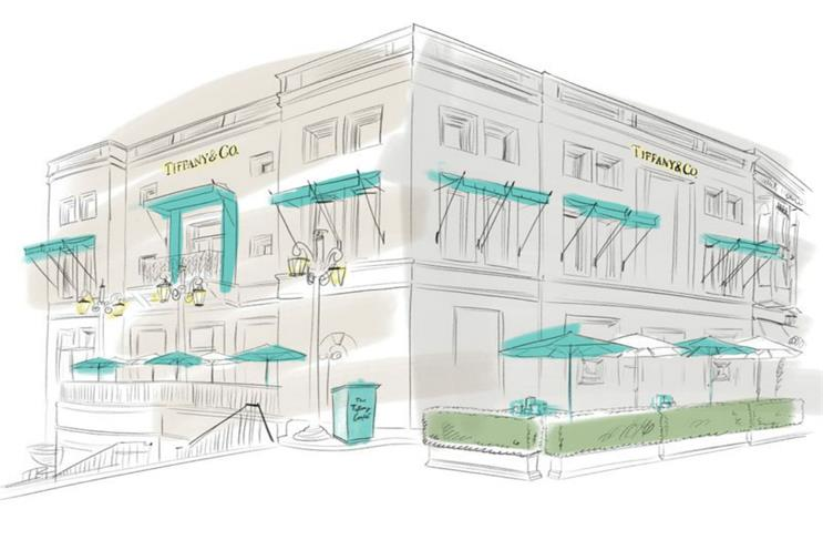 Tiffany & Co: pop-up is inspired by New York café