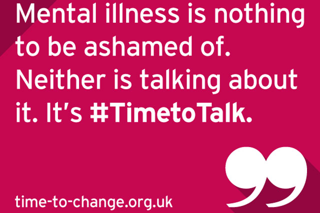 Time to Change: mental illness campaign