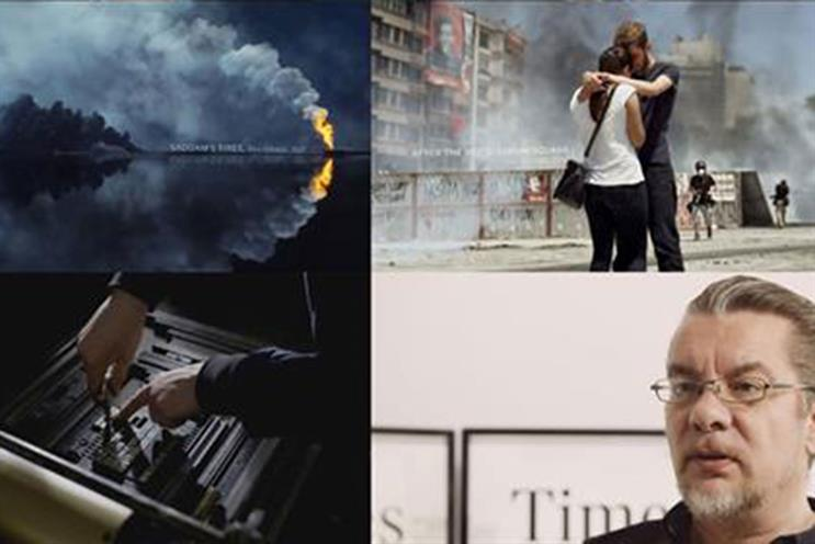 The Times Unquiet Film Series, by Grey London, is a finalist