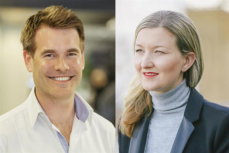 Tom Gladstone and Lisa Parfitt: plan to start a new venture