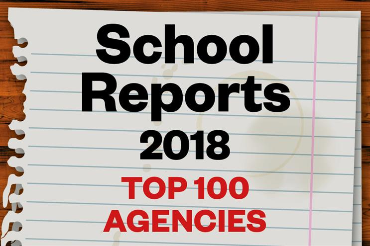 School Reports 2018 Extended Edition: Top 100 agencies