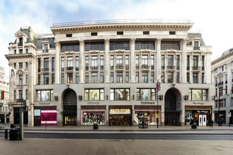 Topshop on Oxford Street: hosting events