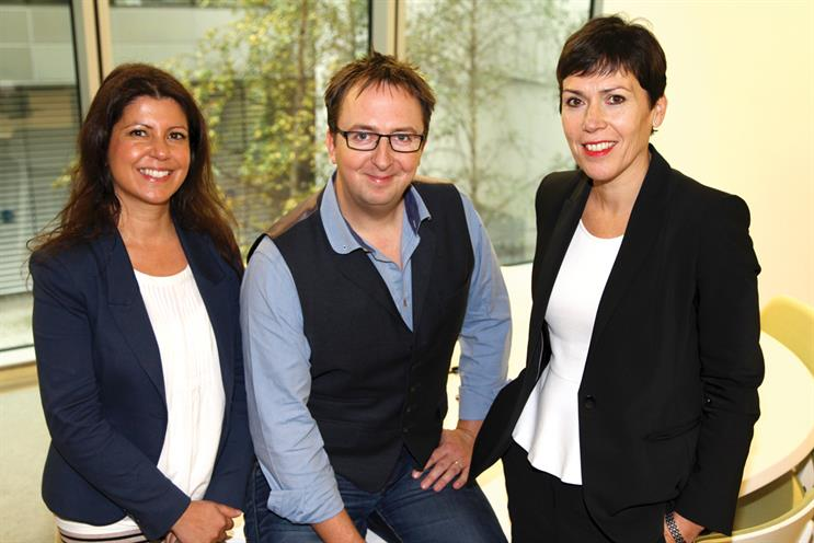 Tempero is acquired by Dentsu Aegis Network: (l to r) Jasmine McGarr, Dominic Sparkes and Tracy De Groose